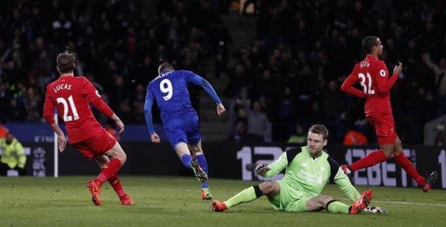 Leycester Taklukan Liverpool 3-1